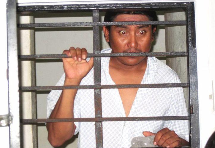 Eric Alberto Amaya Sonda pasará a la historia de la justicia yucateca porque su caso fue el último que se ventiló en el antiguo sistema penal de Yucatán. (Francisco Puerto/SIPSE)