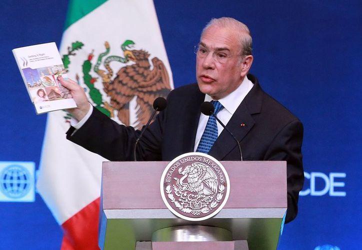 Para José Ángel Gurría México podría ser uno de los países con mejor desempeño en los próximos años. (Notimex/Archivo)