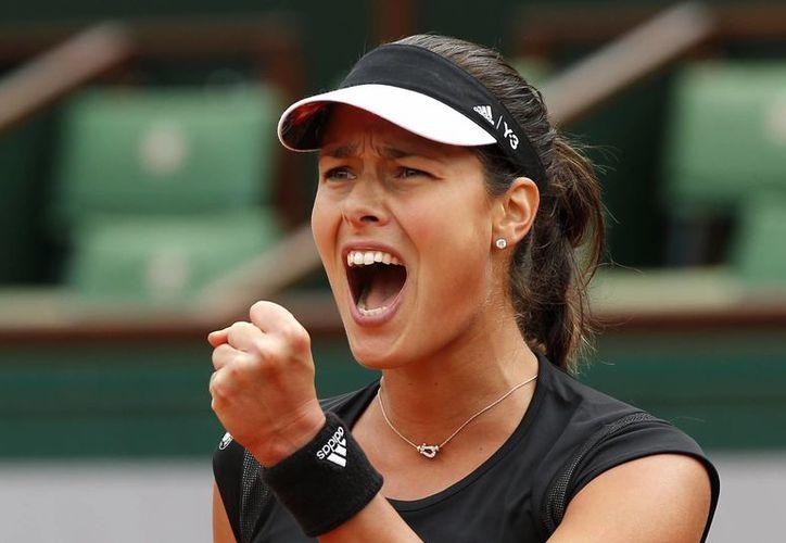 La tenista serbia derrotó en cuartos  de final a la ucraniana Elina Svitolina por 6-3, 6-2 y enfrentará a la checa Lucie Safarova en busca del título parisino (Foto: AP)