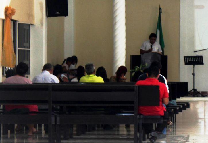 Entre cinco y seis grupos religiosos gestionan autorización para eventos ante el Ayuntamiento. (Daniel Pacheco/SIPSE)