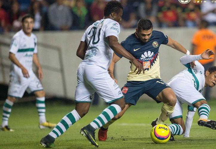América venció 1-4 a Zacatepec en un partido amistoso realizado en Coruco Díaz. (Foto: Twitter)