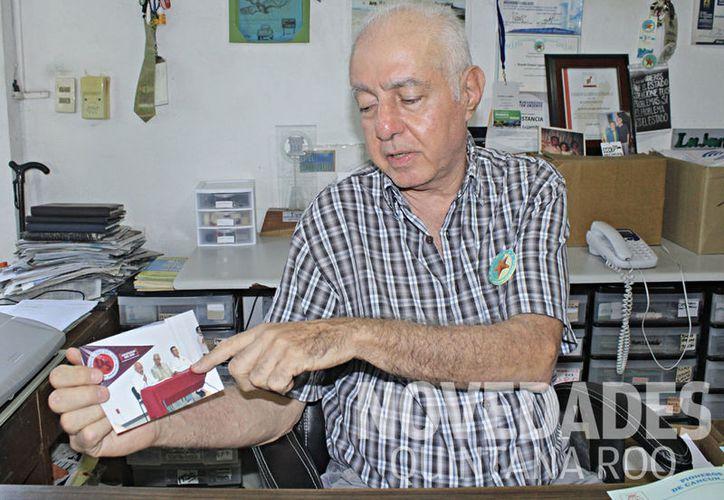 """""""La conciencia social se me avivó aquí en Cancún y he participado en muchas organizaciones que son para beneficio de la sociedad"""". (Ivett Ycos/SIPSE)"""