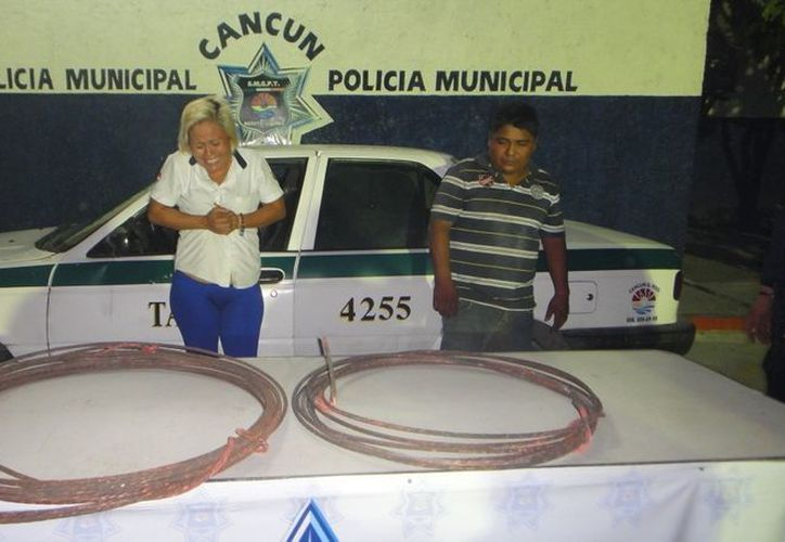 Ernestina Jiménez Rodríguez y Samuel Aguilar Ramírez fueron sorprendidos en la Región 91. (Redacción/SIPSE)