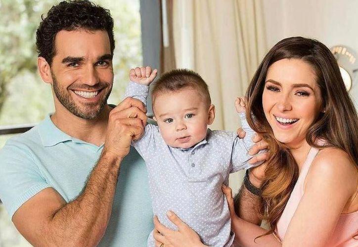 Diego es el primogénito de Ariadne y Marcus Ornelas. (Foto: Ariadne Díaz/Instagram)