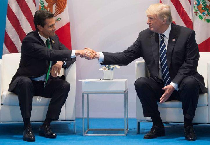 Trump y Peña Nieto no se han visto en el marco de una visita de Estado, ni en la Casa Blanca ni en el Palacio Nacional. (Foto: El País)