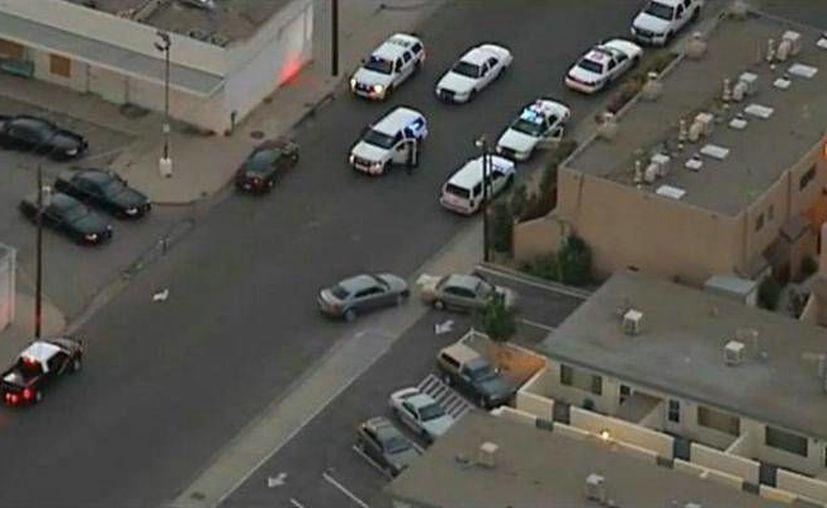 Al momento del choque el sujeto salió del vehículo y huyó a pie. (news.com)