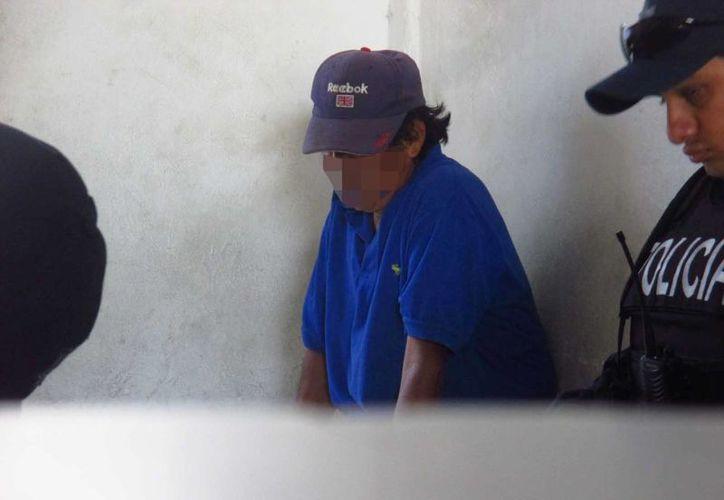 """Manuel """"N"""" fue detenido por impedir que sus hijas se retiraran de su casa. (Redacción/SIPSE)"""