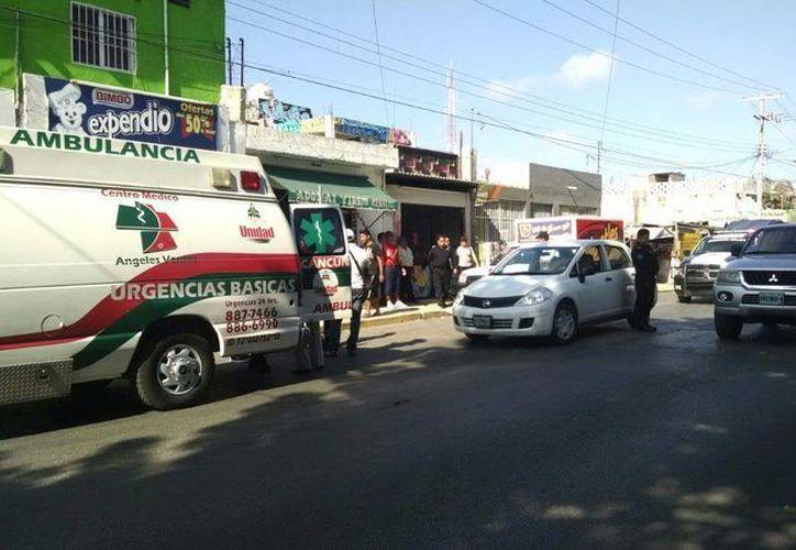 Víctor Manuel fue trasladado al hospital PlayaMed. (Redacción/SIPSE)