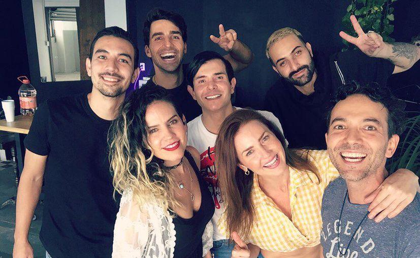 Artistas se unen por el Caribe mexicano. (Foto: cortesía)