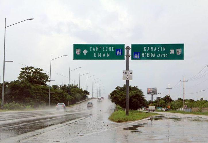 Con la construcción de 3 distribuidores se completarán los puentes del Periférico de Mérida. (Archivo/Milenio Novedades)