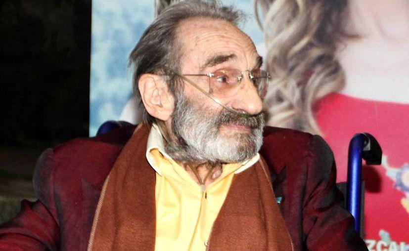 El actor Germán Robles, famoso por su papel de vampiro en varias cintas del cine mexicano de terror  falleció esta mañana. (Archivo/NTX)