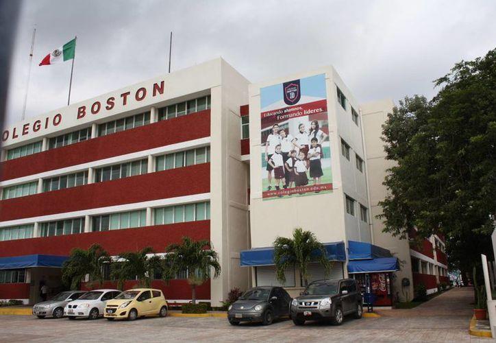 El Colegio Boston contabilizó a 800 alumnos en este ciclo escolar. (Redacción/SIPSE)