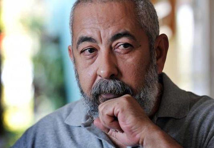 El escritor cubano Leonardo Padura se dijo conmovido y feliz por la concesión del Premio Princesa de Asturias de las Letras. (AP)