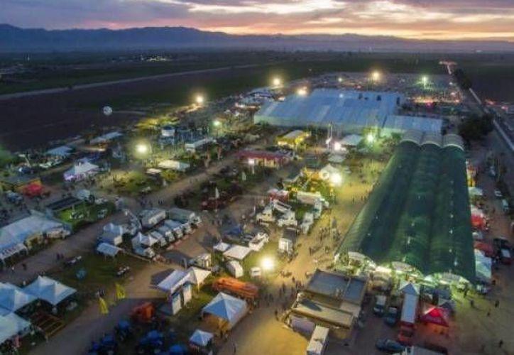 Productores yucatecos participarán en la AgroBaja 2017, en Mexicali. La imagen es del 2016 y corresponde al recinto que alberga la expo. (Archivo/agrobaja.com)
