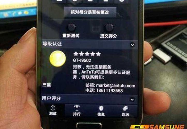 Un grupo chino publicó algunas presuntas imágenes de lo que será el nuevo dispositivo móvil. (bbs.52samsung.com)