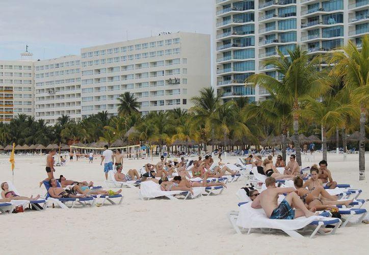 Cancún podría cerrar este año con el 74.5% en comparación con el 70.4% de 2012. (Jesús Tijerina)