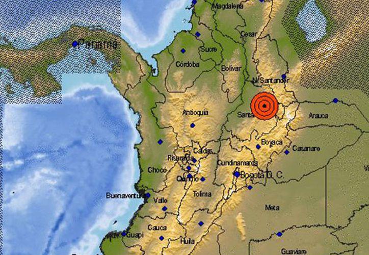 En el momento del temblor el presidente de Argentina, Mauricio Macri, acababa de bajar de su avión en Bogotá. (RT)