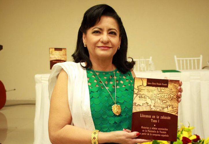 La publicación de Laura Elena Rosado Rosado está respaldada por varios años de investigación. (Jorge Acosta/SIPSE)