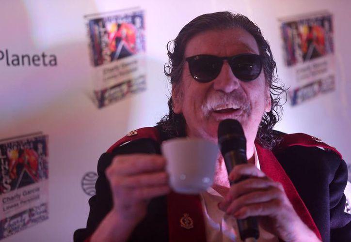 La última vez que Charly García había sido hospitalizado, fue el 15 de noviembre por un preinfarto antes de ofrecer un concierto en Bogotá, Colombia. (EFE/Archivo)