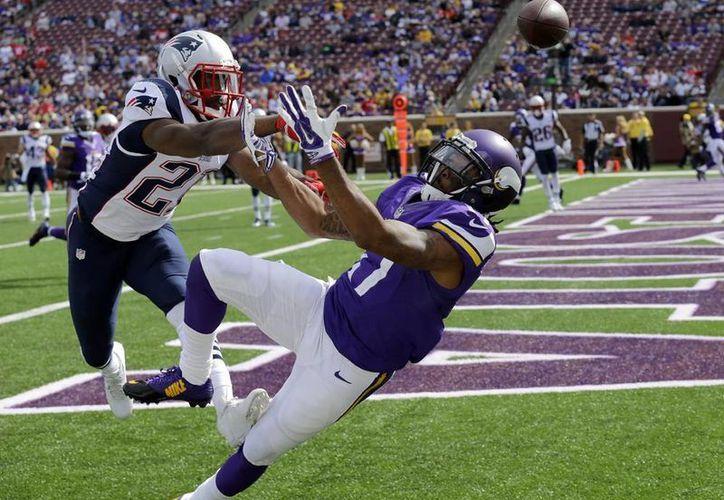 Patriots no desperdició la oportunidad al ver que Vikings venía incompleto. (AP)
