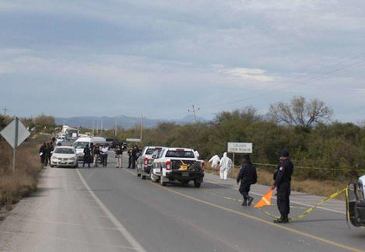 El cuerpo de Mauro Rivera Camacho fue encontrado en un canalón de la carretera a Colombia. (Milenio)