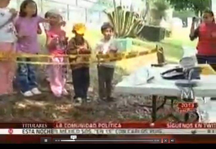 Los niños se enfrentan a delitos como robo de helado. (Captura de pantalla de video)