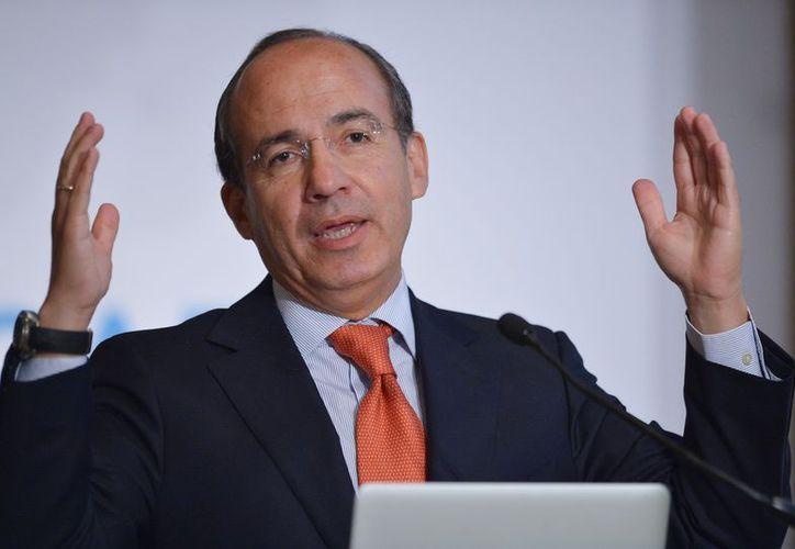 Felipe Calderón mencionó estar molesto con Ricardo Anaya. (Animal Político)