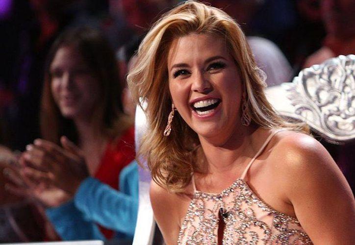 La ex Miss Universo venezolana Alicia Machado (foto) actuará en los Monólogos de la vagina por primera vez al lado de otra ex Miss Universo, la mexicana Lupita Jones, quien debutó en la obra desde 2008. (farandula.com)