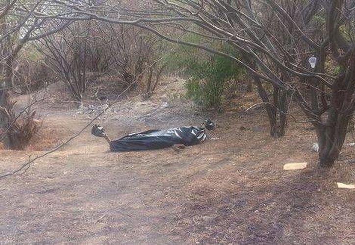 Los cuerpos fueron localizados en un paraje de la carretera Galeana-Tequesquitengo. (Milenio)
