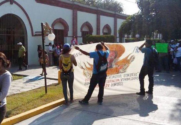 Los maestros de la CNTE realizarán un paro de labores de 72 horas iniciando este lunes. (Óscar Rodríguez/Milenio)