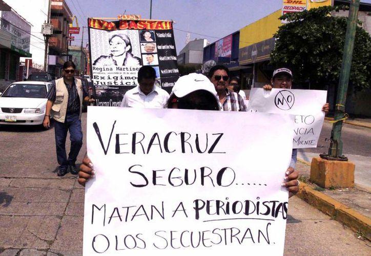 Desde el año 2000 han sido asesinados 81 periodistas en el país. (Archivo/Notimex)