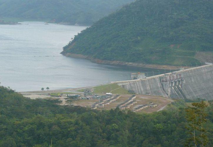 En la gráfica se aprecia la hidroeléctrica Porce II en Antioquía, Colombia. (amalfi-antioquia.gov.co)