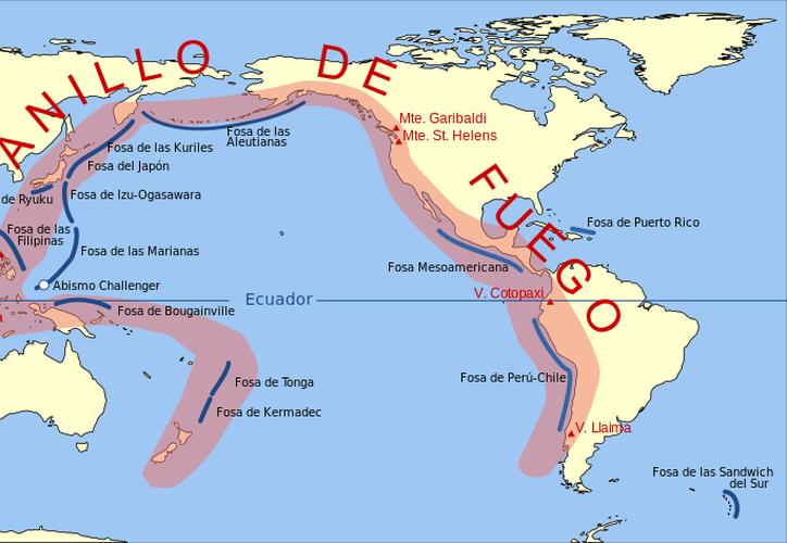 """Especialistas advierten de un """"gran terremoto"""" del Anillo de Fuego capaz de destruir California. (Foto: Twitter)"""