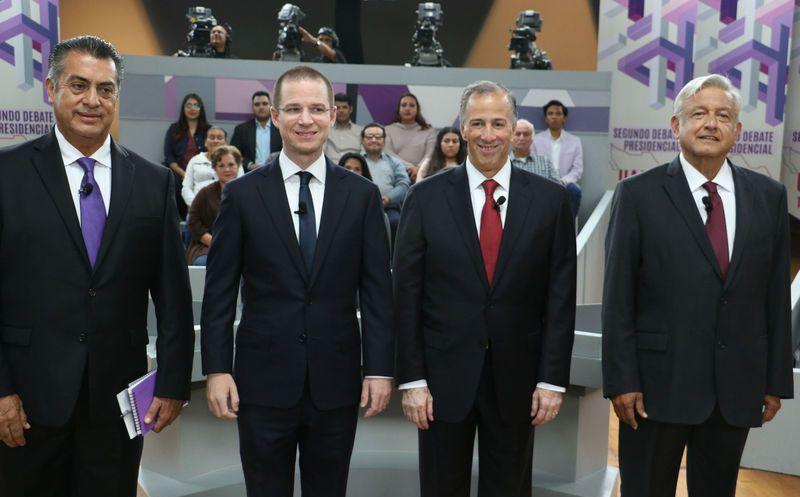 Los cuatro candidatos ya están en Mérida para poder intercambiar propuestas y planteamientos en el 3er debate. (Notimex)