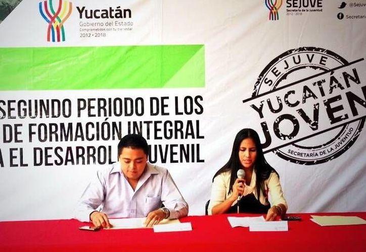 Presentan talleres para la formación integral del desarrollo juvenil. (Milenio Novedades)