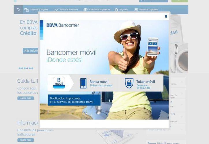 BBVA Bancomer buscará llegar a 4.2 millones de clientes con al menos un medio digital. (bancomer.com)