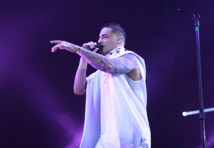 Maluma registró una gran entrada durante su concierto de este sábado en el Coliseo Yucatán. (Jorge Acosta/ Milenio Novedades)