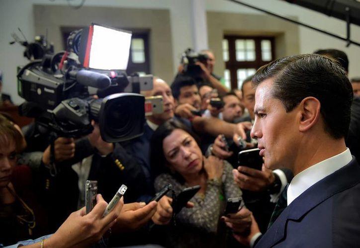 El Presidente celebra incorporación de normalistas de Guerrero a planta docente. (Presidencia)