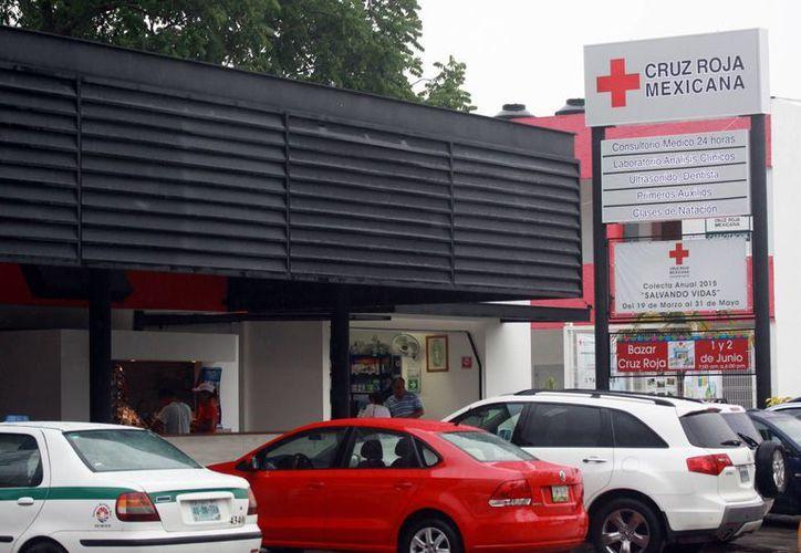 La Cruz Roja agradece la buena respuesta de la población. (Luis Soto/SIPSE)