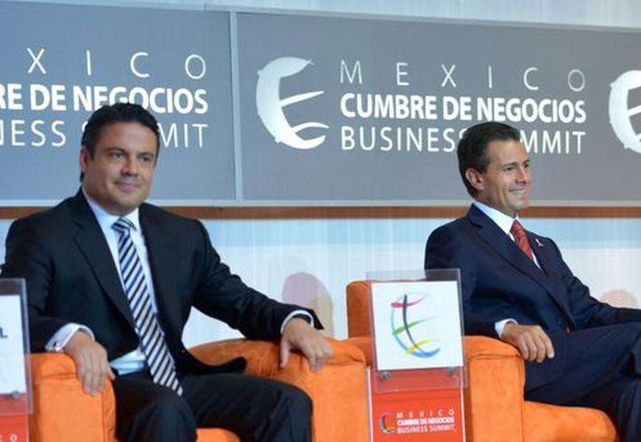 Peña Nieto acudió a la apertura de la 13ª Edición de México Cumbre de Negocios, en Guadalajara, Jalisco. (Notimex)