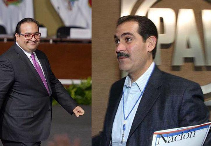El gobernador de Veracruz, Javier Duarte, y el ex mandatario de Sonora, Guillermo Padrés, se encuentra prófugos de la justicia. (Archivo/Agencias)