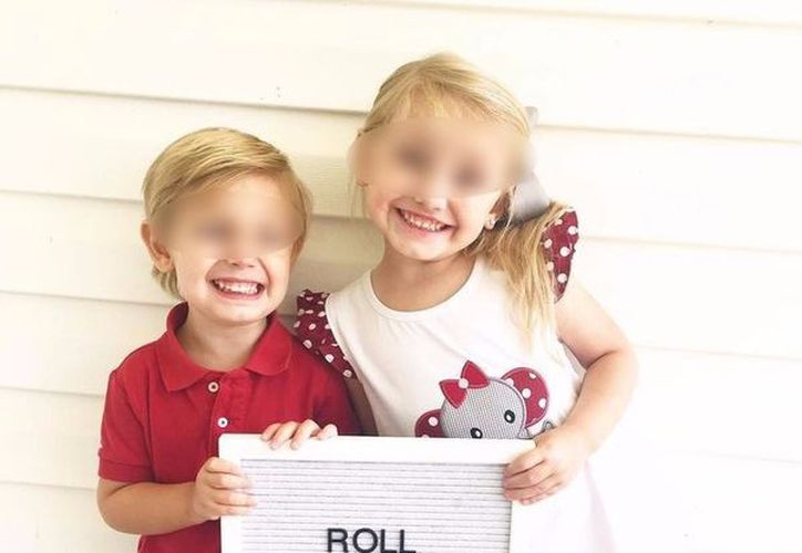 La bala impactó la cabeza de su hermana, hiriéndola fatalmente. (LADbible)