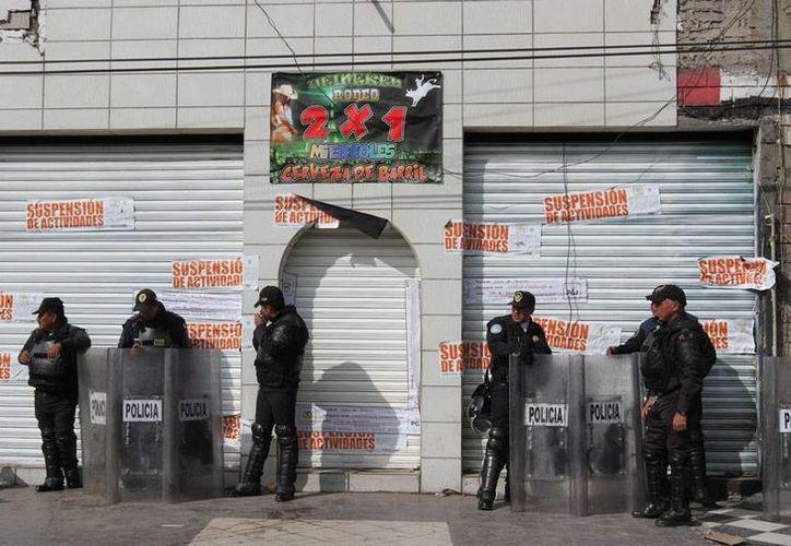 Un operativo en el Centro Histórico de la Ciudad de México arrojó saldo de 40 detenidos. La imagen no corresponde al operativo, y está utilizada solo con fines ilustrativos. (NTX/Archivo)