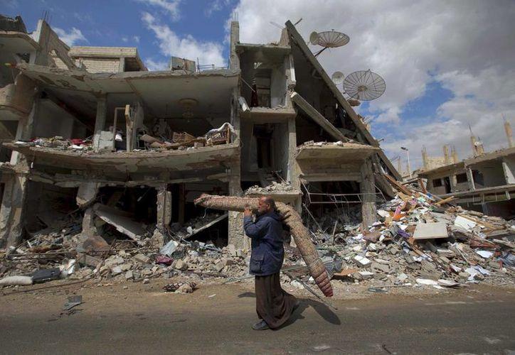 La violencia en Siria ha provocado la muerte de miles de personas en el país. (AP/Hassan Ammar)