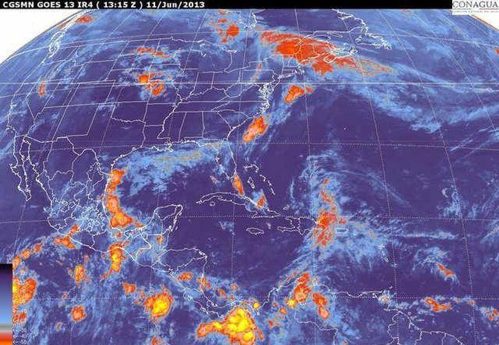 Soplarán vientos del este y sureste de 20 a 40 km/h. (smn.cna.gob-mx)
