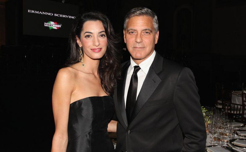 Nacen los gemelos de George Clooney