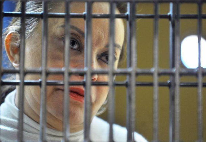 Elba Esther Gordillo, con un delicado estado de salud, enfrenta un proceso por operaciones con recursos de procedencia ilícita. (Archivo/SIPSE)