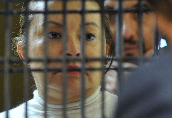 La ex lidera del SNTE, dejó durante la madrugada el hospital donde se encontraba, para cumplircon su arresto domiciliario en Polanco. (Contexto)