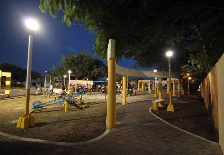 Los integrantes de las pandillas se reúnen en parques. (Tomás Álvarez/SIPSE)