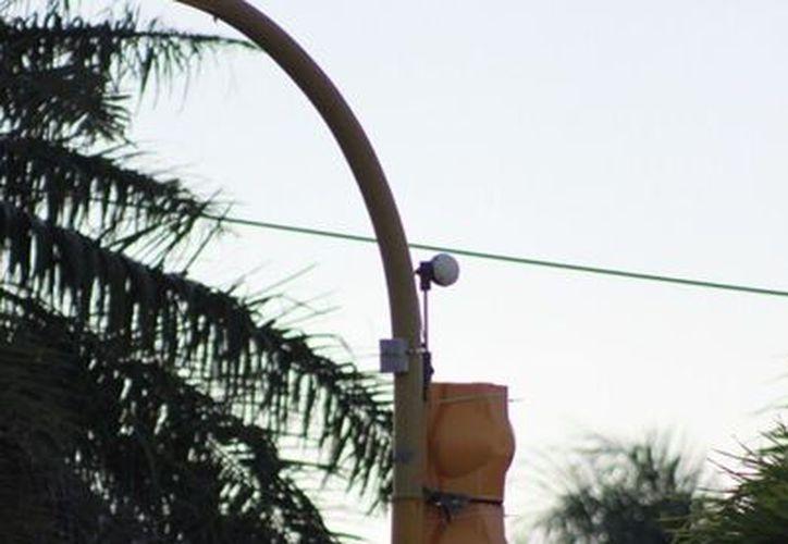 En 2013 serán instaladas 13 cámaras más. (Juan Palma/SIPSE)